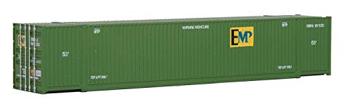 Container Intermodal - Walthers SceneMaster Singamas EMP Corrugated-Side Container, 53'