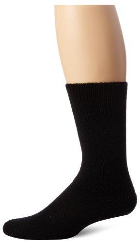 Thorlo Men's Moderate Cushion Therapeutic Over-Calf Sock, Black, X-Large
