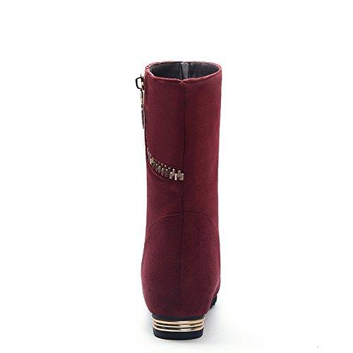 1TO9 1TO9Mns02120 - Sandalias con Cuña Mujer Red