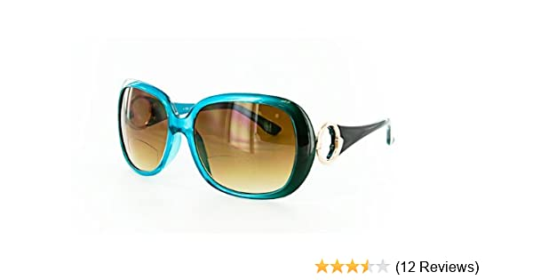 b8979f645a544 Amazon.com  Highline -- Bifocal Sun Reader (Teal) +2 -(For Every Pair  Purchased MoralEyes Will Donate A Pair Of Reading Glasses To A Person In  Need.