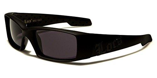 Matte Black Gangster Thick Black Shades Men'S Designer - Gangster American Sunglasses