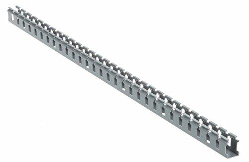 (Panduit G1X2LG6 Type G Wide Slot Wiring Duct, PVC, Light)