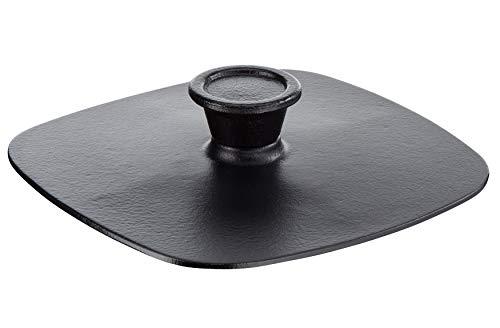 Tefal E21390 Jamie Oliver Guss Grillpresse, Emaille-Beschichtung 22 cm, eisenguss
