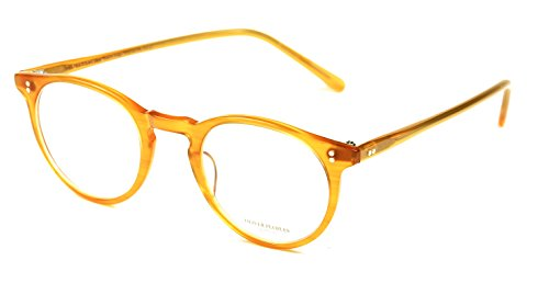 Oliver Peoples O'Malley Eyeglasses Color 1171 Amber Tortoise - Frames Peoples Mens Oliver