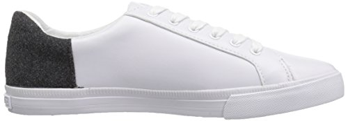 Tommy Hilfiger Women's Lune Sneaker White/Grey free shipping perfect vJf92m