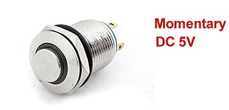 White 4 Pcs//Lot 5V LED Illuminated Push Button 1P 2P Player Start Buttons //