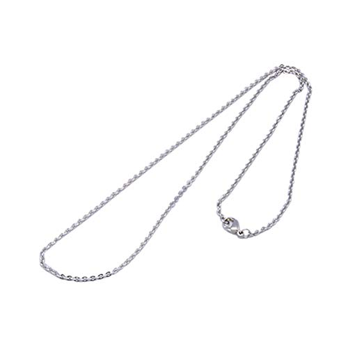 (ARRICRAFT 10 Strands Stainless Steel Cable Chain Necklaces for Jewelry Making, 20