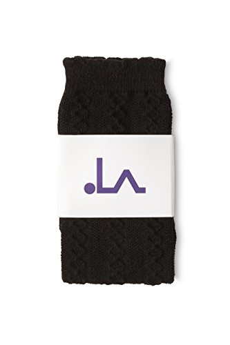 LA Active Baby Toddler Knee High Grip Socks – 5 Pairs - Non Slip/Skid Cable Knit (Variety) by LA Active (Image #3)