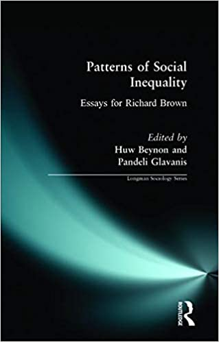 patterns of social inequality essays for richard brown longman  patterns of social inequality essays for richard brown longman sociology  series paperback   jul