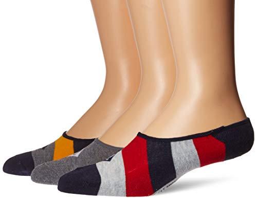 Sperry parte superior-Sider - Calcetines para hombre, 3 unidades, diseño de canoa, sin sombra de zapatos, colores surtidos,...