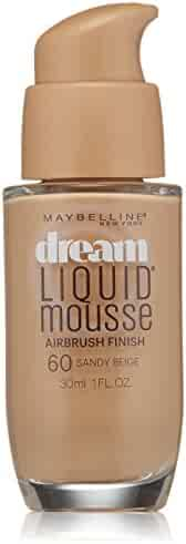 Maybelline New York Dream Liquid Mousse Foundation, Sandy Beige, 1 Fluid Ounce(Packaging May Vary)