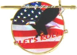 Roll Hat Pin - 7