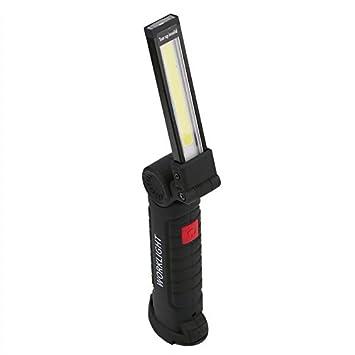 Cargador USB de mano COB Luz de trabajo móvil Plegable LED ...