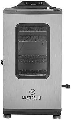 Masterbuilt MB20051316 Propane Smoker with Thermostat Control, 40 inch, Black