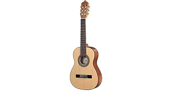ARTESANO Estudiante XA-1/2 - Guitarra de concierto (tamaño 1/2, 53 ...