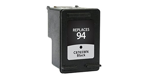 Inksters of America Remanfactured Ink Cartridge Replacement for HP 94 Black Ink Cartridge (C8765WN)