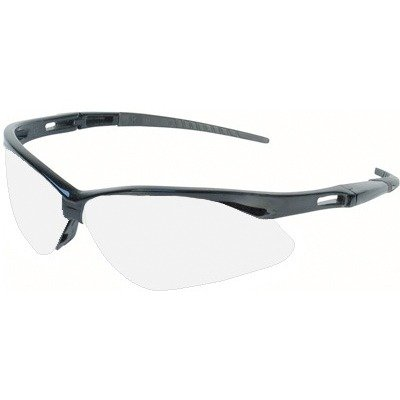 Jackson 3000355 KC 25679 Nemesis Safety Glasses Black Frame Clear Lens Anti Fog, 1 Pair (Jackson Safety Safety Glasses)
