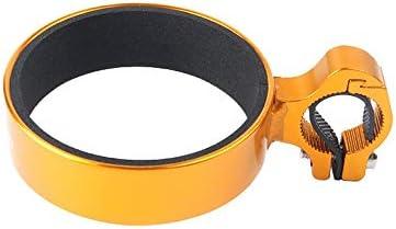 TCSPD 自転車ボトルホルダー自転車部品のコーヒーカップホルダーティーカップホルダー自転車ブラケットアルミボトルケージボトルホルダーアウトドア (Color : YE)