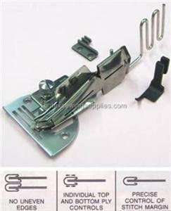 Size 1 Adjustable Double Fold Right Angle Bias Binder Set For Industrial Sewing Machine