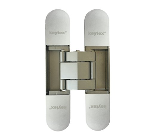 KT3D-140 Invisible Hinge, Set of Two(2), Up to 132lbs. Doors, Concealed and Streamline Door Hinge, 3-D Adjustable (Up to 132lbs) by NHN (Image #3)