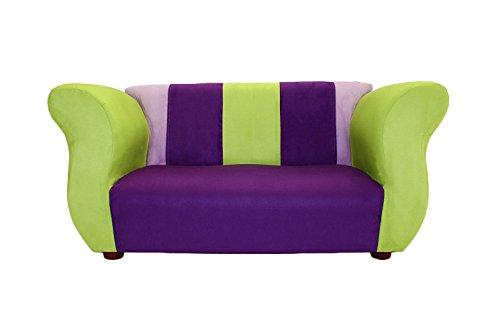 KEET Fancy Kid's Sofa, Purple/Green by Keet
