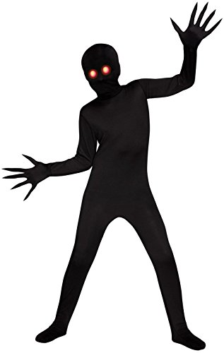 Scary Costumes - Fade Eye Shadow Demon Skin Suit Kids Costume (Medium 8-10)