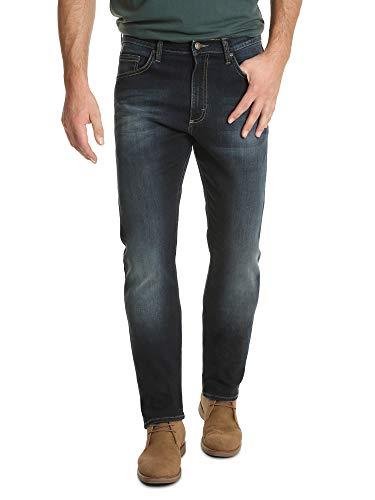 Wrangler Authentics Men's Authentics Premium Athletic Fit Jean, Darkest Indigo, 38X32 (Fit Authentic Jean)