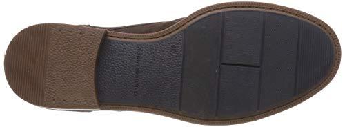 Zapatos Casual Hilfiger Oxford Shoe coffee Para De Tommy 212 Bean Dress Suede Marrón Hombre Cordones RXBgZq
