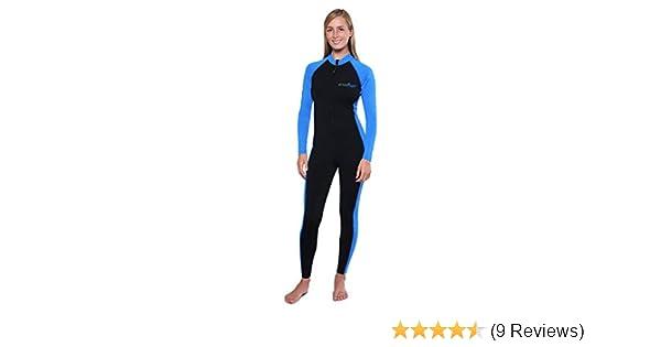 6531f8ac1a8 Amazon.com  Women UV Protection Swimwear Full Body Stinger Swimsuit  Chlorine Resistant UPF50+  Clothing