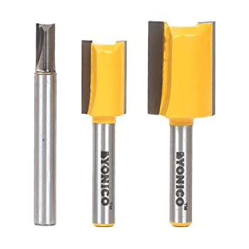 dado router bit. yonico 14323q 3 undersized plywood dado router bits for 3/4\ bit i