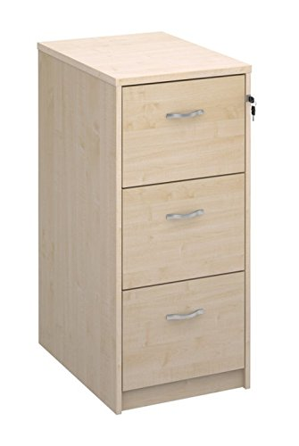 sports shoes c9869 5013c Relax Office Deluxe 480mm Wooden Filing Cabinet With 3 Drawers Office  Storage File Organisers, Lockable, Foolscap Suspension Filing In Beech,  Maple, ...