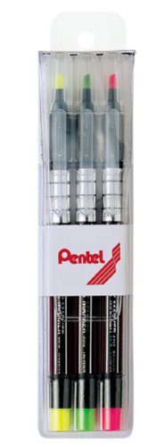 Pentel Fluorescent Marker Pen 3,s512 Colors/set for Writing Marker Book