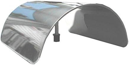 90 mm Edelstahl rostfrei V2A Connex HV4329 Pfostenkappen gew/ölbt
