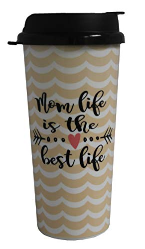 Whirley Mom Life is The Best Life 16oz Thermo Tumbler