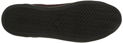 Geox U Box C, Zapatillas para Hombre Rot (BURGUNDY/BLACKC8351)