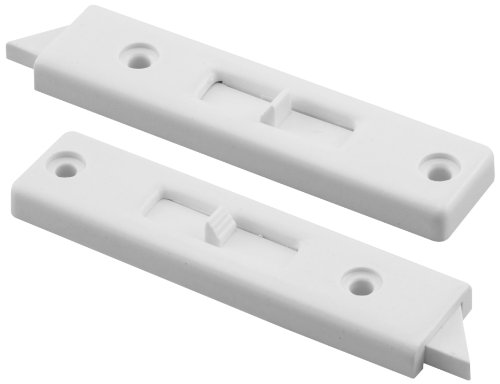 (Prime-Line Products F 2671 Window Tilt Lock, 1 Pair, White Vinyl)