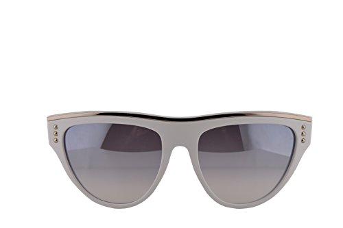 de Moschino 002 MOS002 MOS002S MOS y sol MOS S Gafas VK6IC blanco gris S 002S color SvqSBr