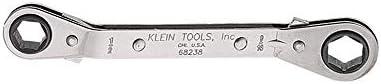 Klein Tools 68238 Llave de caja acodada trinquete totalmente reversible 12 x 916 pulgadas