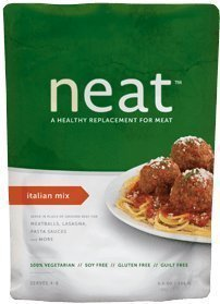 Neat - A Healthy Replacement for Meat Mix 5.75oz Pouch (Pack of 3) (Italian) by Neat by Neat