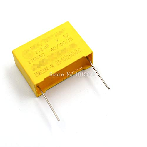 5PCS//LOT Safety Capacitor 275VAC 225 2.2UF 275V Pitch 27mm Polypropylene Film Capacitor Capacitance