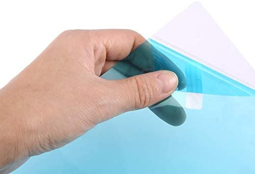 Transparente CamKpell Pel/ícula Protectora del Espejo retrovisor del Coche Pel/ícula Suave Anti-Agua//Niebla//Lluvia//Scrach Nano Cobertura Pel/ícula de Niebla a Prueba de Lluvia para el Coche