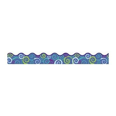 (Trend Enterprises Cool Swirls Scalloped Terrific Trimmer, 12 per Package (T-92150) by Trend Enterprises)
