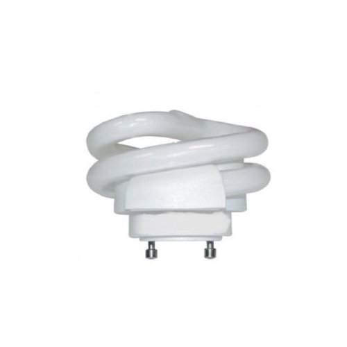 Kichler Lighting  4051 18-watt GU24 Base Flattened Spiral Compact Fluorescent Lamp, Frosted