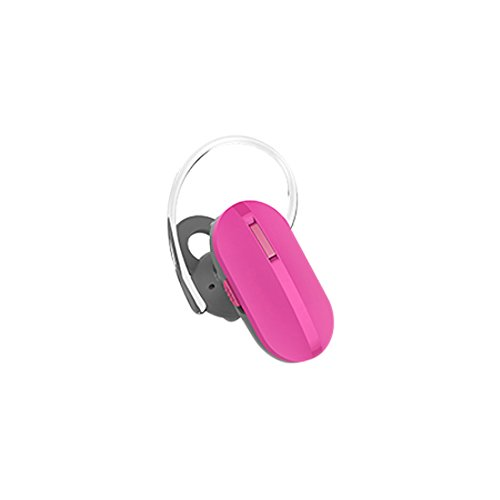 Quikcell Edge Bluetooth Headset with Volume Controls and Prompts for Apple & Android - Retail Packaging - White