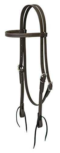 Weaver Leather Brahma Webb Brow Band Headstall