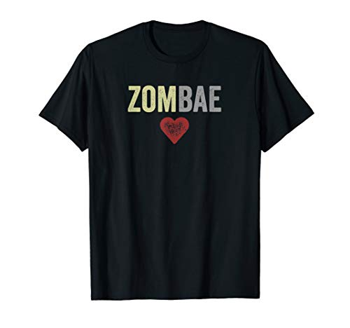 Zombae Halloween Couple Before Anyone Else for Zombie Lovers T-Shirt]()