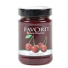Favorit Swiss Red Cherry Preserves 6x - Cherry Favorit Red