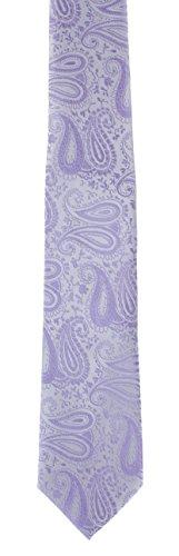 amp; Lilac Occasions Paisley Wedding Pocket Set Tie Tonal Square wBvqpnCpS