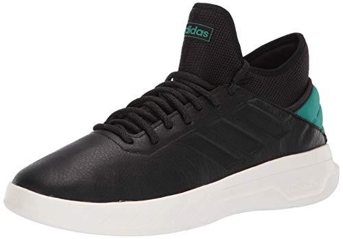 adidas Men's Fusion Storm, Black/Active Green, 12 M US (Fusion Basketball Shoes)