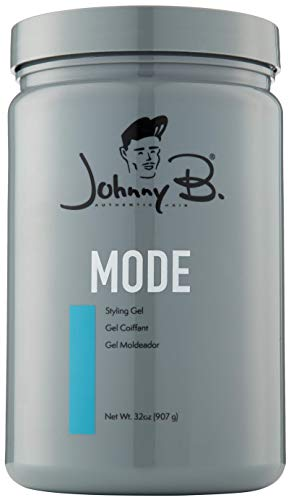 Johnny B Mode Styling Gel 32oz Medium Hold Blue